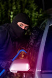 Thief caught while stealing royalty free stock images