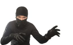 Thief creeps Royalty Free Stock Photos