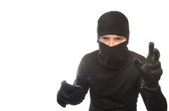 Thief creeps Royalty Free Stock Photo