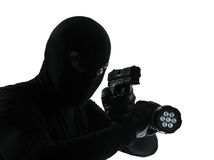 Thief criminal Royalty Free Stock Photo