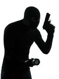 Thief criminal terrorist Stock Images