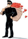 Thief of hearts Royalty Free Stock Image