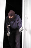 Thief at home Royalty Free Stock Photo