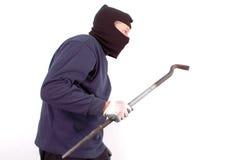 Thief at home Royalty Free Stock Photos