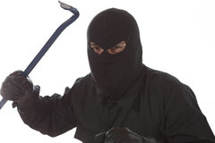 Thief with a kickstand Stock Photo