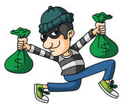 Thief Royalty Free Stock Images