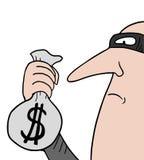 Thief man Royalty Free Stock Image