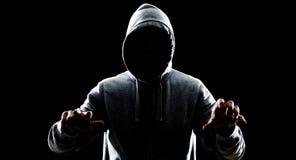 Thief in night Stock Photos
