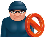 Thief protection Stock Photos