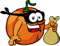 Thief Pumpkin Royalty Free Stock Photos