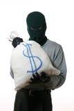 Thief with sack Stock Image