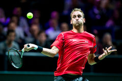 Thiemo De Bakker ATP Światowej wycieczki turysycznej Salowy tenis Obrazy Stock