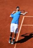 Thiemo DE Bakker (NED) in Roland Garros 2011 Stock Foto