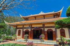 Thien exterior Vien Truc Lam Monastery fotos de stock