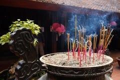 Thien Hau寺庙-西贡-胡志明市-越南 库存照片