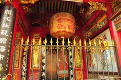 Thien Hau pagoda in Saigon Stock Images