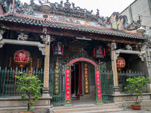 Thien Hau Temple (Ho Chi Minh, Vietnam). Thien Hau Temple is located in Cho Lon of Ho Chi Minh, Vietnam. It's a Chinese style temple Stock Photography