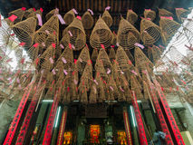 Thien Hau Temple (Ho Chi Minh, Vietnam) Royalty Free Stock Photo