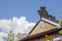 Thien Mu Pagoda, Hue city, Vietnam stock photography
