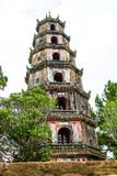 Thien Mu Pagoda, Hue, Vietnam. Thien Mu Pagoda, Hue, Vietnam royalty free stock photos