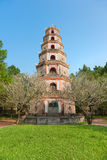 Thien Mu Pagoda, Hue, Vietnam. Stock Photos