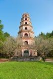 Thien Mu Pagoda, Hue, Vietnam. Stock Photos