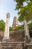 Thien Mu pagoda in Hue, Vietnam Stock Images