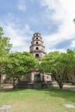 Thien Mu pagoda, odcień, Wietnam. Unesco światowego dziedzictwa miejsce. Fotografia Royalty Free