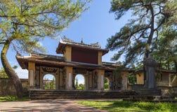 Thien Mu pagoda, odcienia miasto, Wietnam Zdjęcia Royalty Free