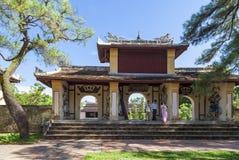 Thien Mu pagoda, odcienia miasto, Wietnam Zdjęcie Royalty Free