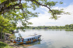 Thien Mu pagoda, odcienia miasto, Wietnam Obraz Stock