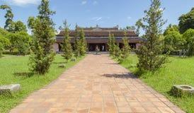 Thien Mu pagoda, odcienia miasto, Wietnam Obraz Royalty Free