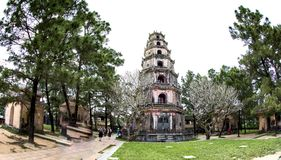 Thien Mu Pagoda. Hue , Viet Nam stock images