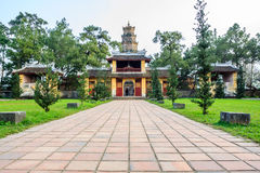 Thien mu pagoda Stock Photo