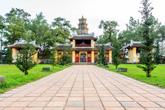 Thien mu pagoda Royalty Free Stock Images