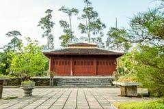 Thien mu pagoda Stock Photo