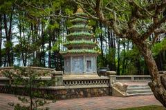 Thien Mu Temple, Hue, Vietnam.  stock photography