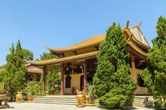 Thien Vien Truc Lam Monastery images stock