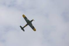 Thiene, Vicenza - Itália 26 de julho de 2015: avião militar Fotos de Stock Royalty Free