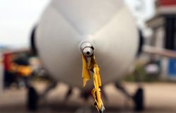 Thiene, Vicenza - Italy. 26th July, 2015:Pitot-static system in Royalty Free Stock Photo