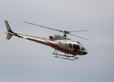 Thiene, Vicenza - Italy. 26th July, 2015:small helicopter for si Royalty Free Stock Image