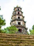 Thienmu Pagode, de Tint van Thua Thien, Vietnam royalty-vrije stock afbeeldingen