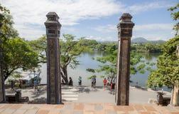 Thienmu Pagode, Tintstad, Vietnam Stock Fotografie