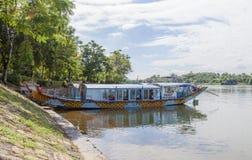 Thienmu Pagode, Tintstad, Vietnam Stock Afbeeldingen