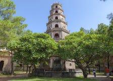 Thienmu Pagode, Tintstad, Vietnam Royalty-vrije Stock Fotografie