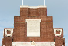 Thiepval War Memorial Stock Photos