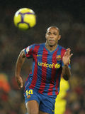 Thierry Henry FC Barcelona Royalty Free Stock Photography