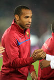 Thierry Henry of FC Barcelona Royalty Free Stock Photos
