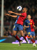 Thierry Henry FC Barcelona Stock Images