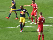 Thierry Henry and New York Red Bulls Stock Photos